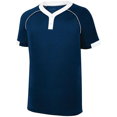 Stanza Jersey Navy/white Adult Baseball