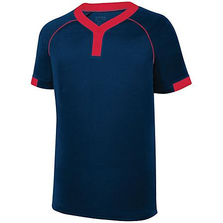 Stanza Jersey Navy/red Adult Baseball