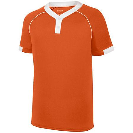 Stanza Jersey Orange/white Adult Baseball