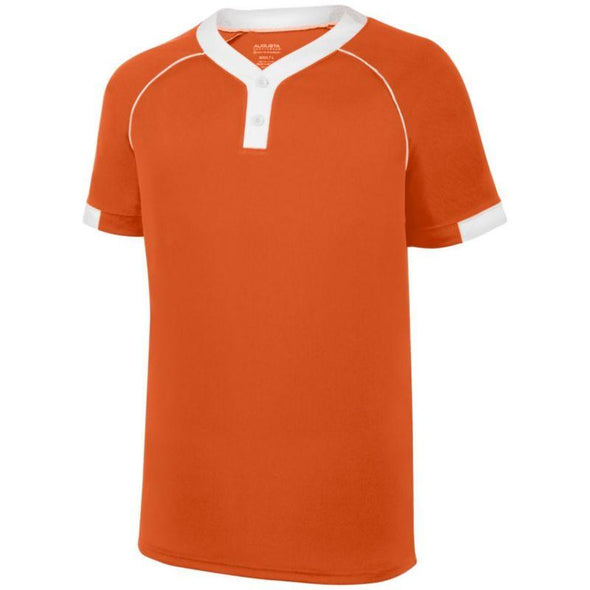 Youth Stanza Jersey Orange / white Baseball