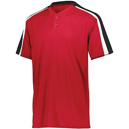 Power Plus Jersey 2.0 Red/black/white Adult Baseball