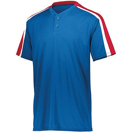 Power Plus Jersey 2.0 Royal/red/white Adult Baseball