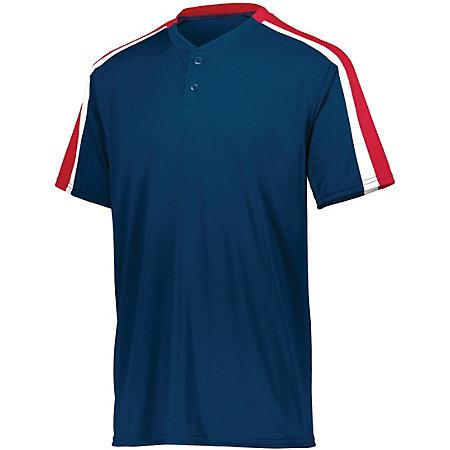 Power Plus Jersey 2.0 Navy/red/white Adult Baseball