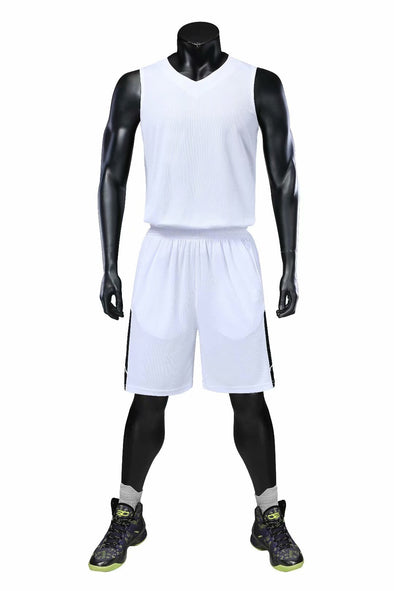 White B-106 Baskeball Uniforms
