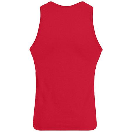Poly/cotton Athletic Tank Adult Basketball Single Jersey & Shorts