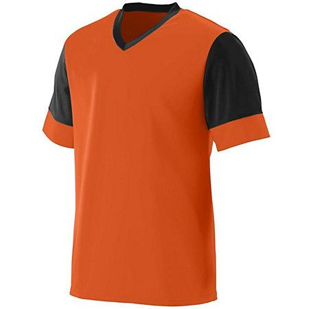 Lightning Jersey Orange/black Adult Single Soccer & Shorts
