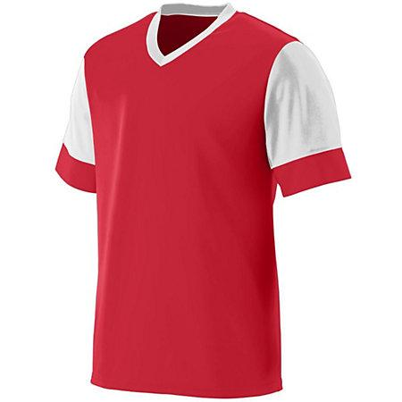 Lightning Jersey Red/white Adult Single Soccer & Shorts