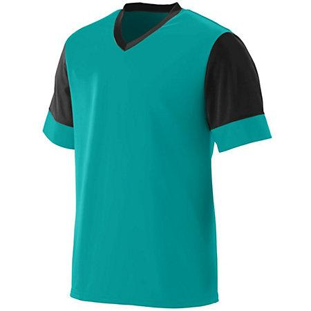 Lightning Jersey Teal/black Adult Single Soccer & Shorts