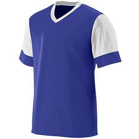 Lightning Jersey Purple/white Adult Single Soccer & Shorts