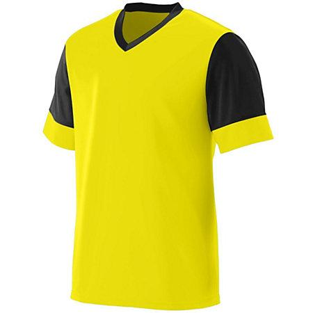 Lightning Jersey Power Yellow/black Adult Single Soccer & Shorts