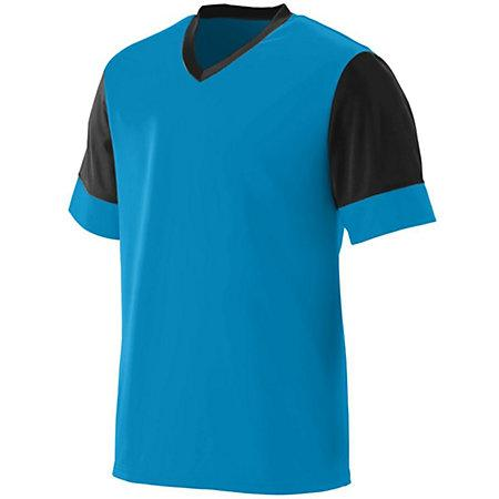 Lightning Jersey Power Blue/black Adult Single Soccer & Shorts