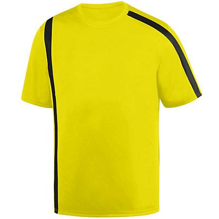 Attacking Third Jersey Power Yellow/black Adult Single Soccer & Shorts