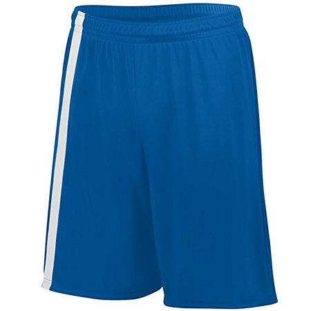 Attacking Third Shorts Royal/white Adult Single Soccer Jersey &