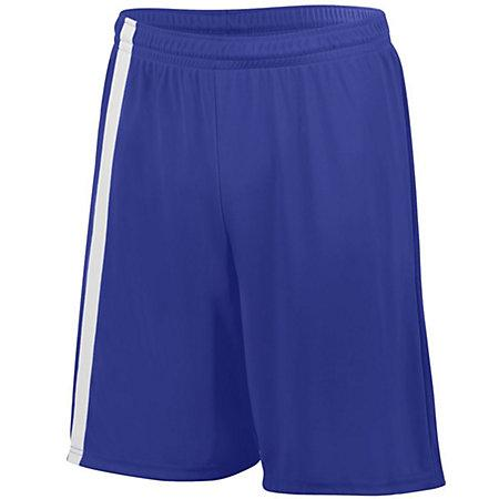Attacking Third Shorts Purple/white Adult Single Soccer Jersey &
