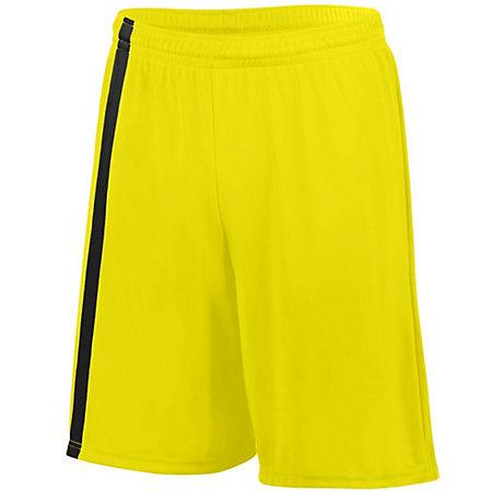 Attacking Third Shorts Power Yellow/black Adult Single Soccer Jersey &