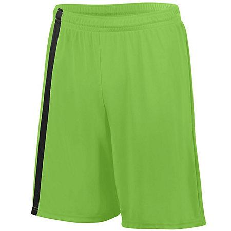 Attacking Third Shorts Lime/black Adult Single Soccer Jersey &