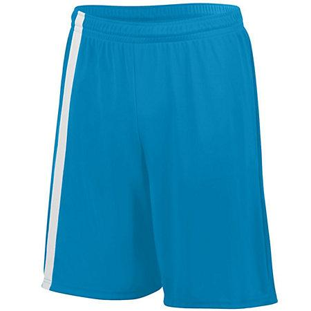 Attacking Third Shorts Columbia Blue/white Adult Single Soccer Jersey &