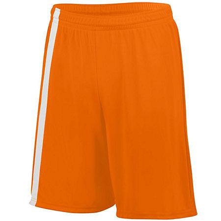 Attacking Third Shorts Power Orange/white Adult Single Soccer Jersey &