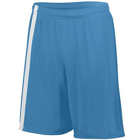 Youth Attacking Third Shorts Power Blue / white Single Jersey de fútbol y
