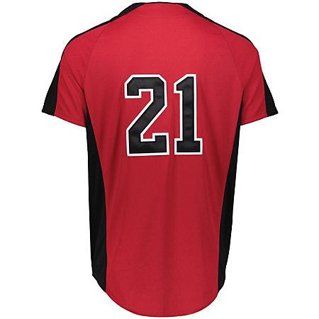 Full Button Baseball Jersey Adult