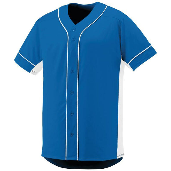 Slugger Jersey Royal/white Adult Baseball