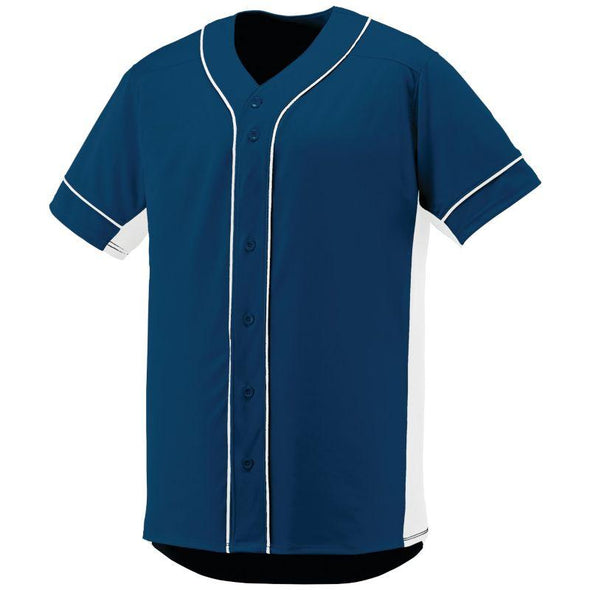 Slugger Jersey Navy/white Adult Baseball