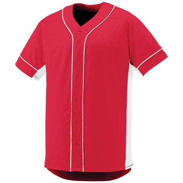 Slugger Jersey Red/white Adult Baseball