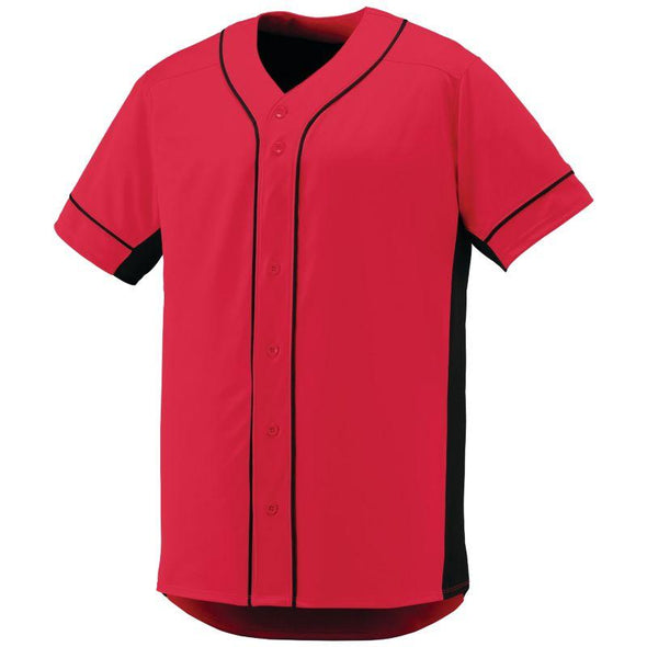 Slugger Jersey Red/black Adult Baseball