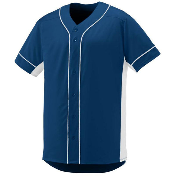 Youth Slugger Jersey Navy/white Baseball