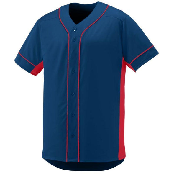Youth Slugger Jersey Navy/red Baseball