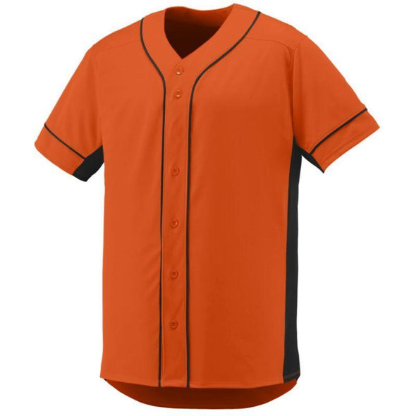 Youth Slugger Jersey Orange/black Baseball