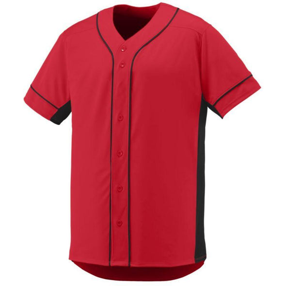 Youth Slugger Jersey Red/black Baseball