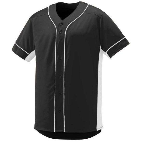 Youth Slugger Jersey Black/white Baseball