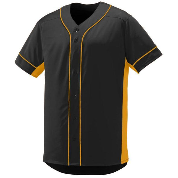 Youth Slugger Jersey Black/gold Baseball