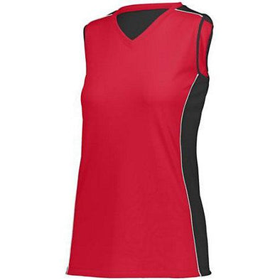 Girls Paragon Jersey Red/black/white Youth Volleyball