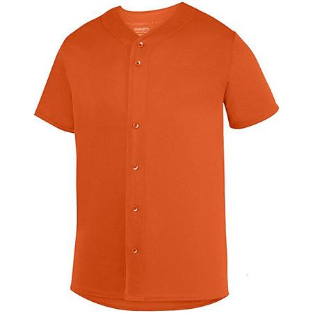 Youth Sultan Jersey Orange Baseball