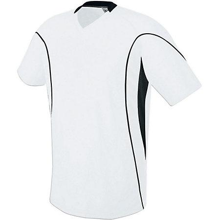 Helix Jersey White/white/black Adult Single Soccer & Shorts