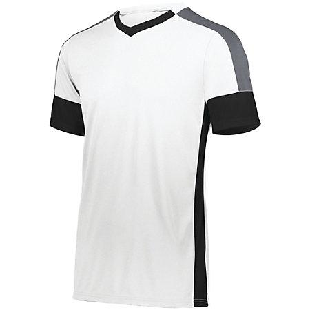 Youth Wembley Soccer Jersey White/black/graphite Single & Shorts