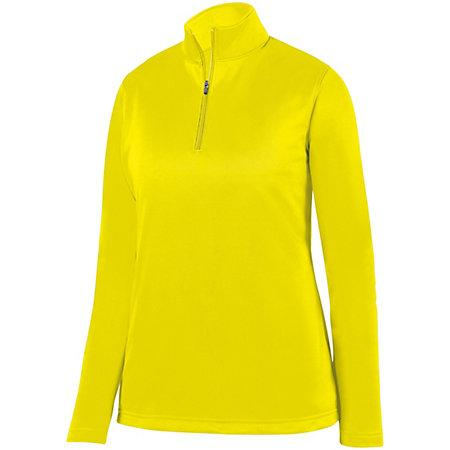 Ladies Wicking Fleece Pullover Power Yellow Basketball Single Jersey & Shorts