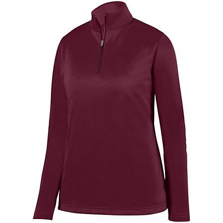 Ladies Wicking Fleece Pullover Maroon Basketball Single Jersey & Shorts