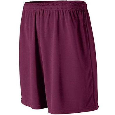 Wicking Mesh Athletic Shorts Maroon Adult Baloncesto Single Jersey &