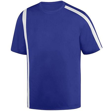 Youth Attacking Third Jersey Purple/white Single Soccer & Shorts