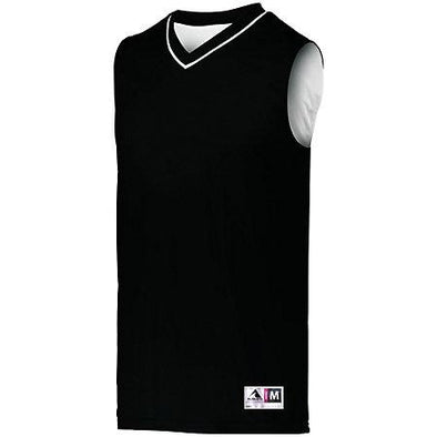 Reversible Two Color Jersey Black/white Adult Basketball Single & Shorts