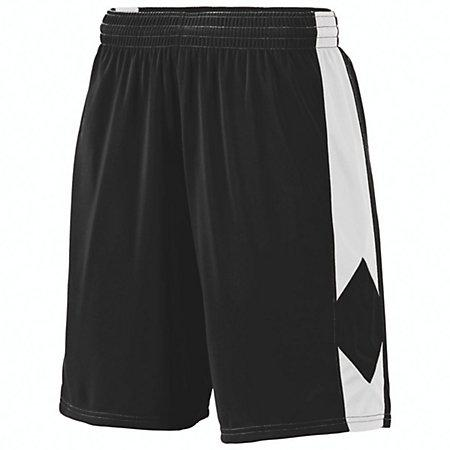Block Out Shorts Black/white Ladies Basketball Single Jersey &