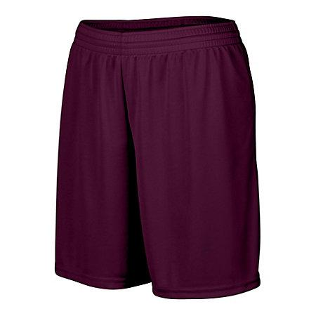 Ladies Octane Shorts Maroon Softball