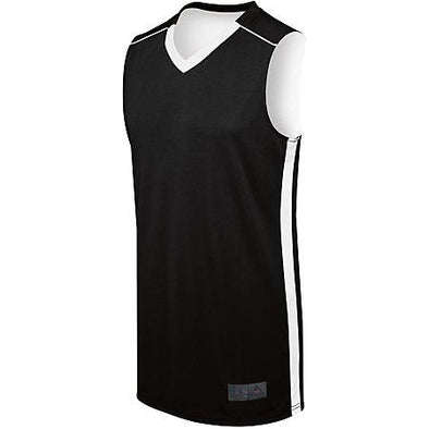 Ladies Competition Reversible Jersey Black/white Basketball Single & Shorts
