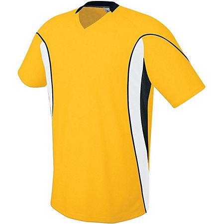 Helix Jersey Athletic Gold/white/black Adult Single Soccer & Shorts