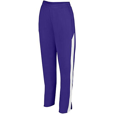 Ladies Medalist Pant 2.0 Purple/white Softball