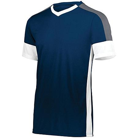Youth Wembley Soccer Jersey Navy/white/graphite Single & Shorts