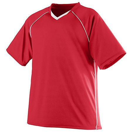Youth Striker Jersey Red/white Single Soccer & Shorts